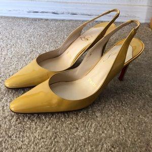 US6/36 Patent Slingback Heels
